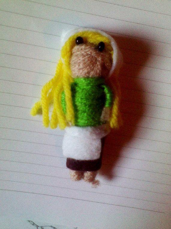 Cinderella yarn doll