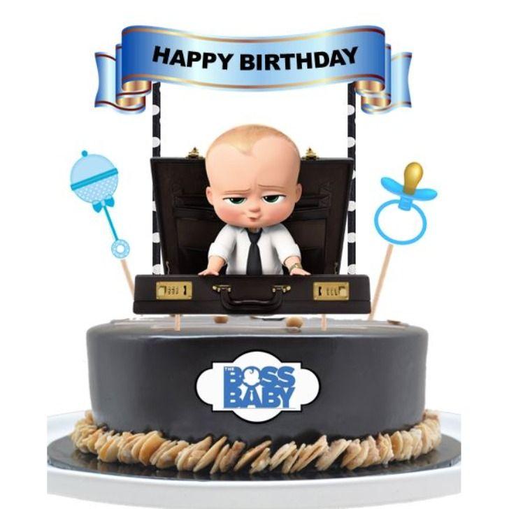 Boss baby cake topper baby cake topper baby birthday