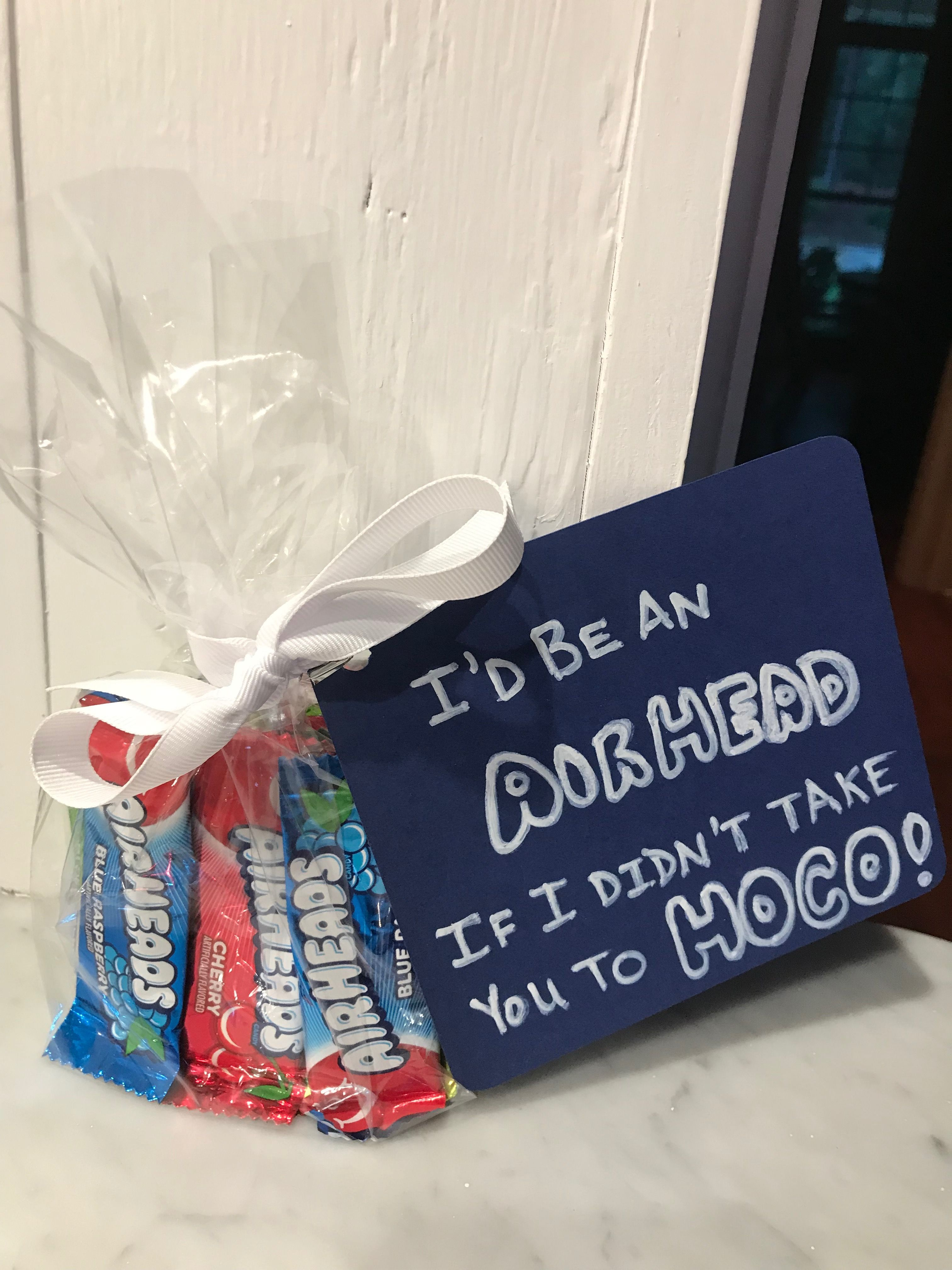 Hoco Proposal with Candy #hocoproposals