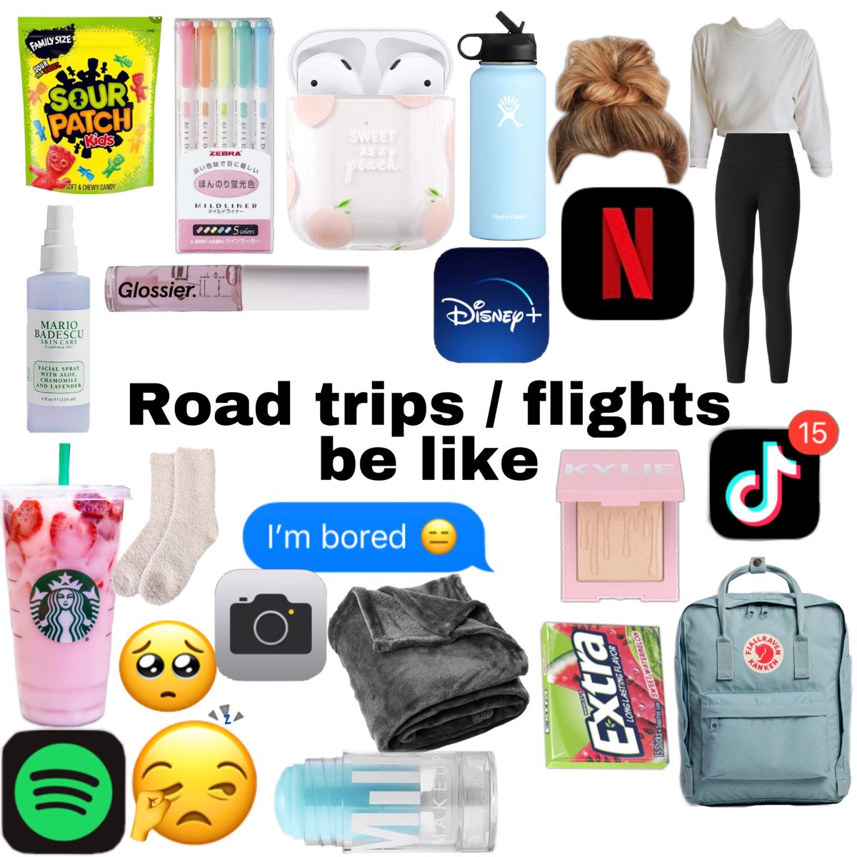 Pin By Mino Uwu On Stuff In 2020 Road Trip Essentials Road Trip Kit Packing Tips For Travel