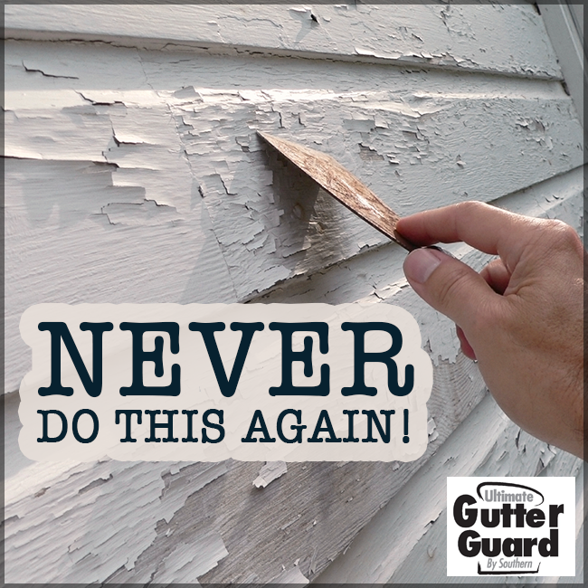 Tired Of Having To Scrape Off Peeling Paint And Then