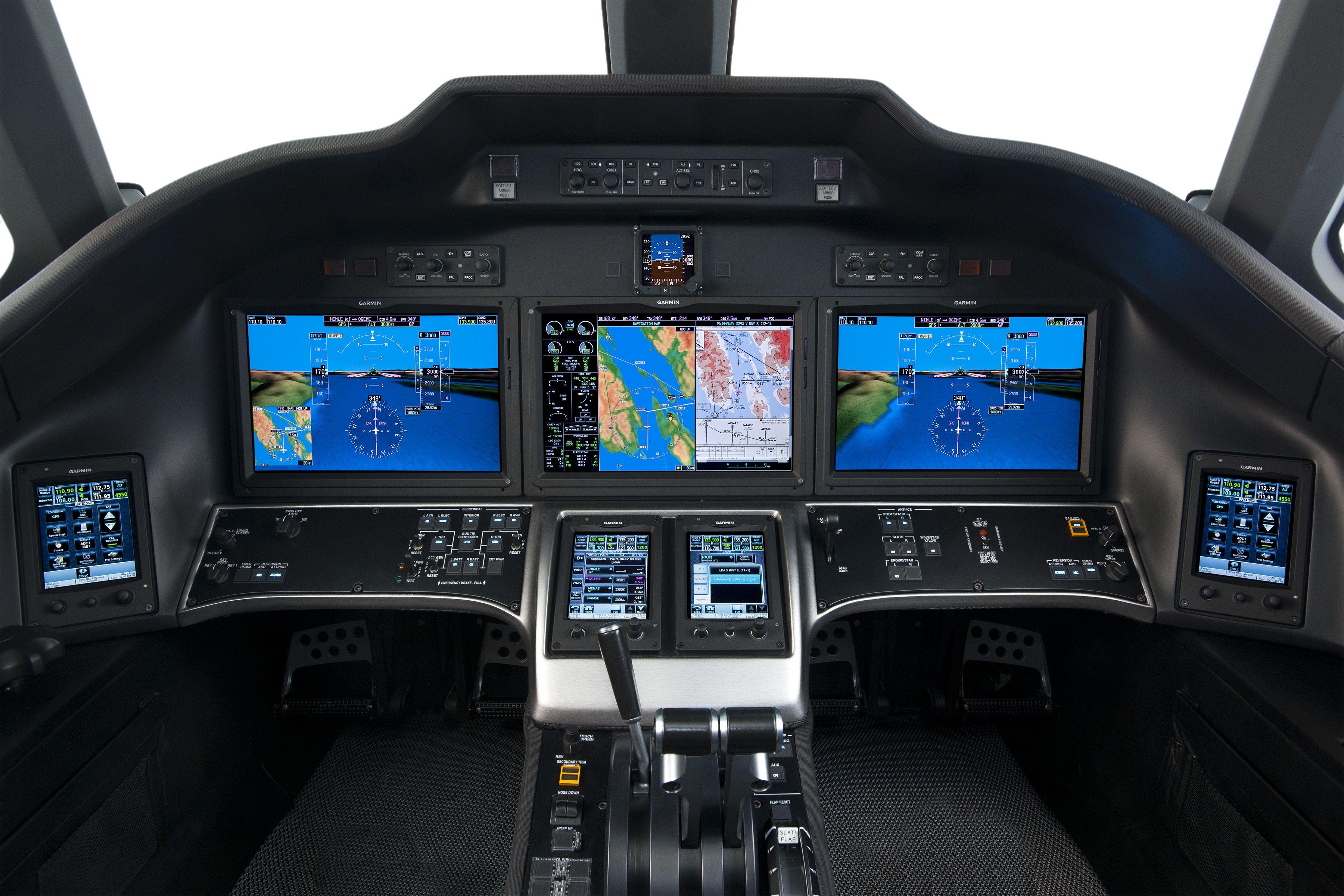 Cessna Citation X Glass Cockpit Commercial Et Citation