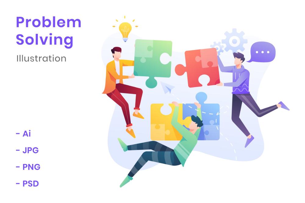 Problem Solving Illustration Google Search Problem Solving Solving Illustration
