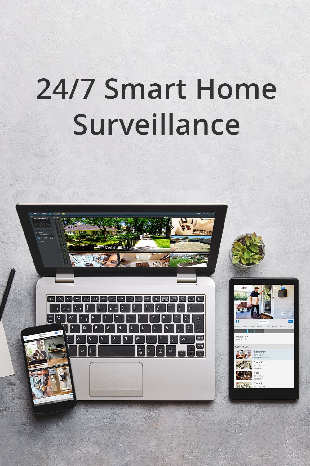 24/7 Smart Home Surveillance