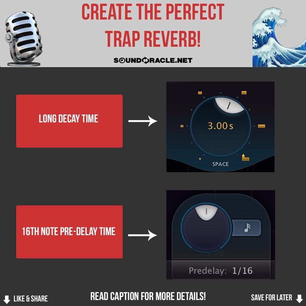 Create The Perfect Trap Reverb! in 2020 Simple math