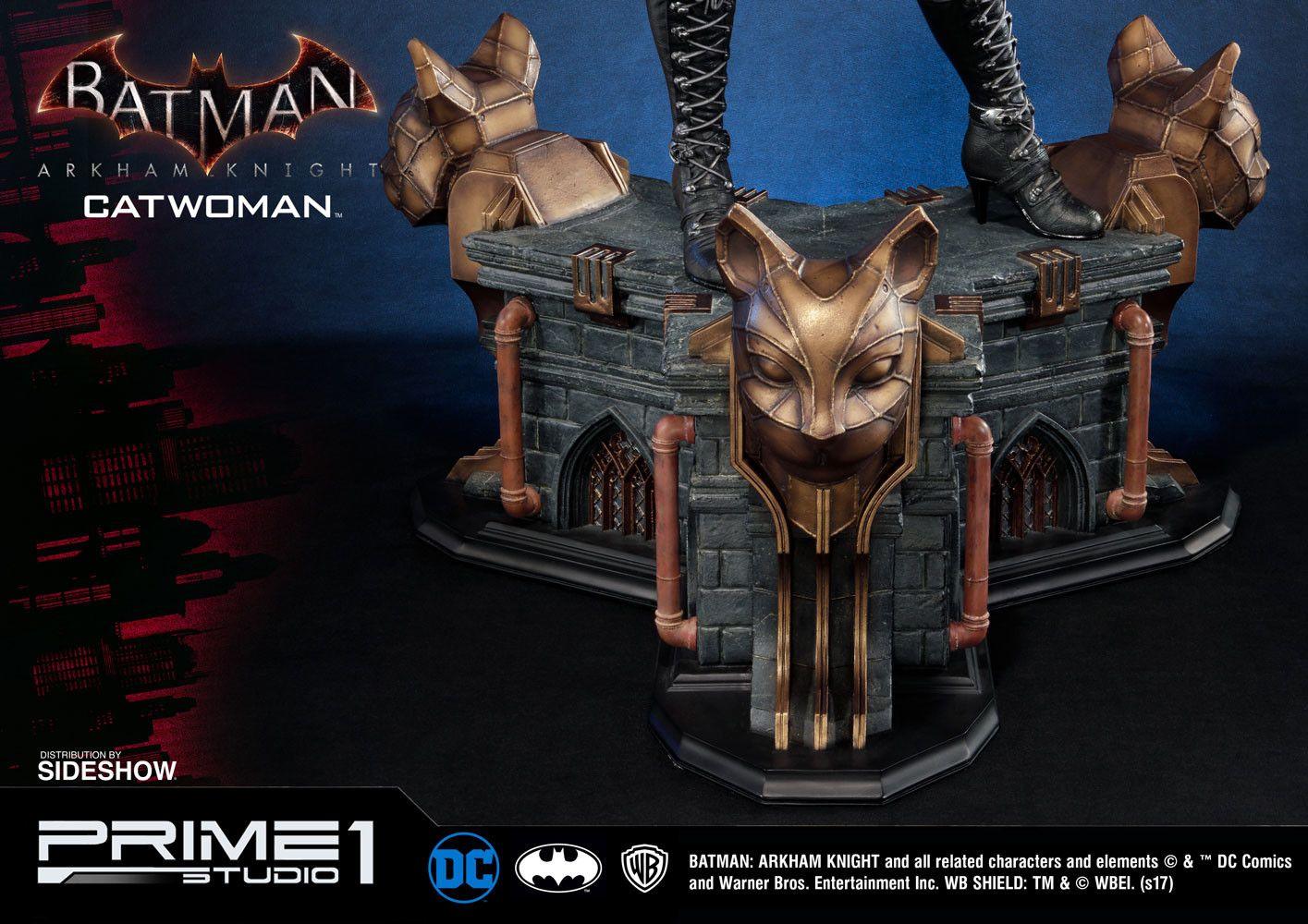 ArtStation Catwoman Arkham Knight Prime1, Steferson