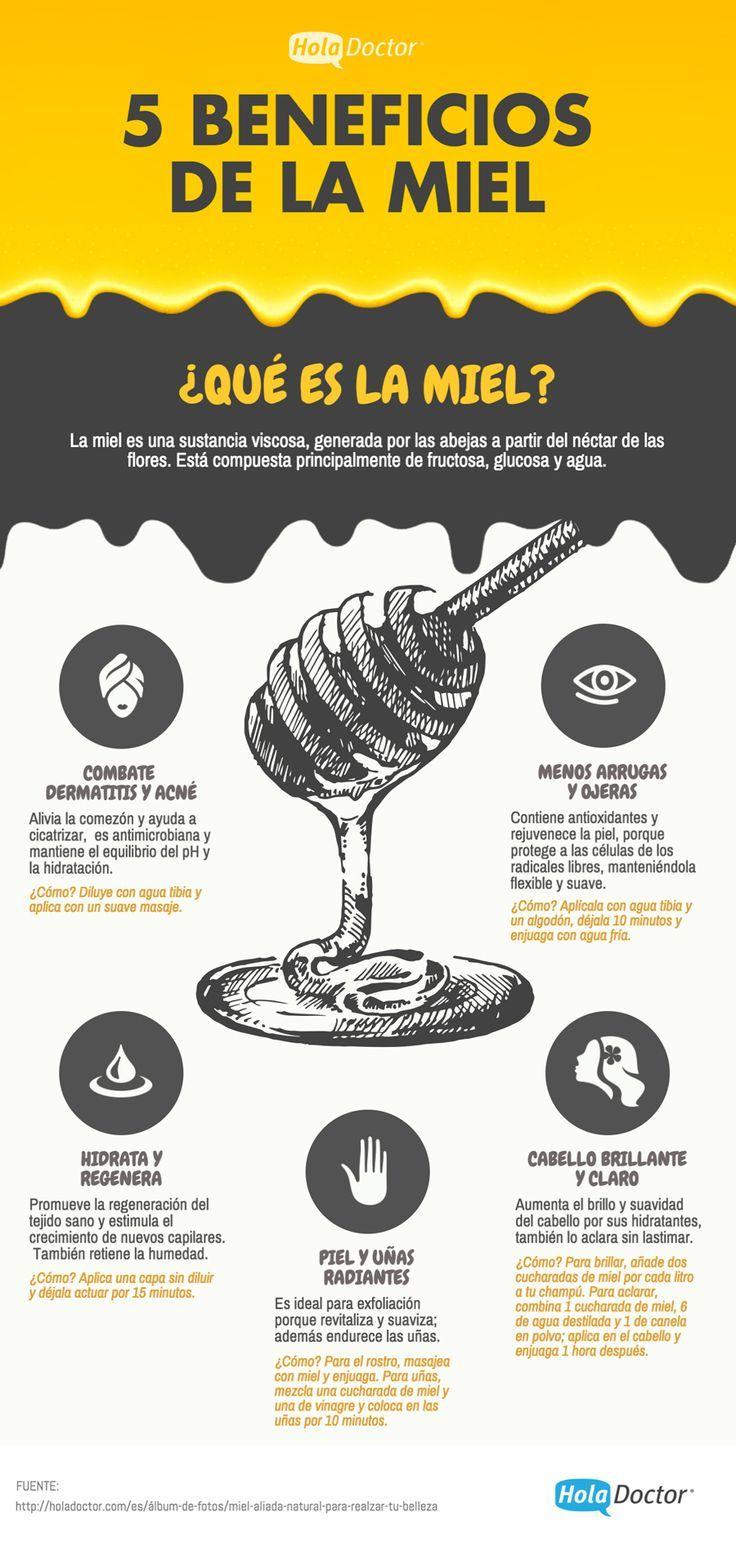 Agua Com Mel E Canela Beneficios 5 beneficios de la miel  nutrition tips, health and