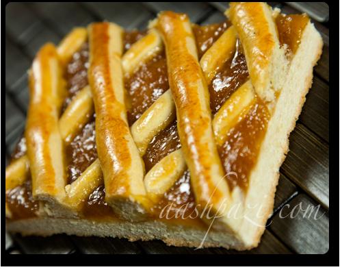 Apricot Marmalade Cake Recipe perok