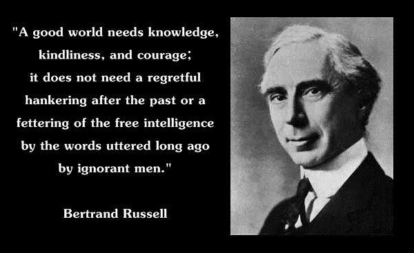Bertrand Russell    enwikipediaorg wiki Bertrand_Russell - graduation speech example template