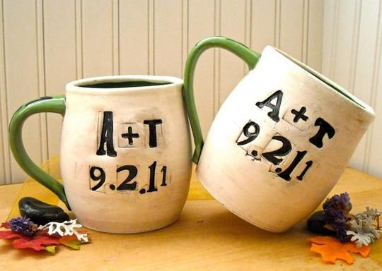 #Custom #Wedding All You Need Is Love Ceramic Pottery Mug Set (2 Mugs), Great Wedding, Anniversary Gift by Love Art Works | Hatch.co