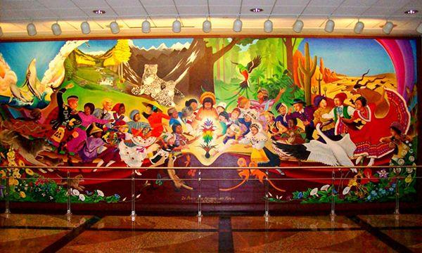 Denver Airport Murals And Horrific Morbid Paintings Explained Part 8