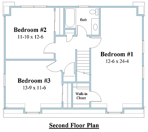 Pretty Close To Our Upstairs Layout Floor Plans Colonial House Plans Dutch Colonial Homes