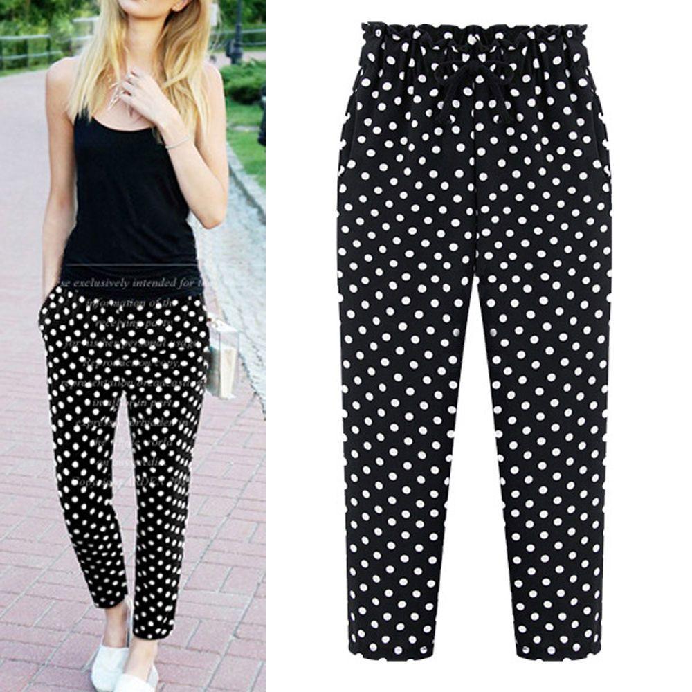 03b73422f8ff New Women Ladies Long Casual Pants Trousers US Size 10 12 14 16 18 ...