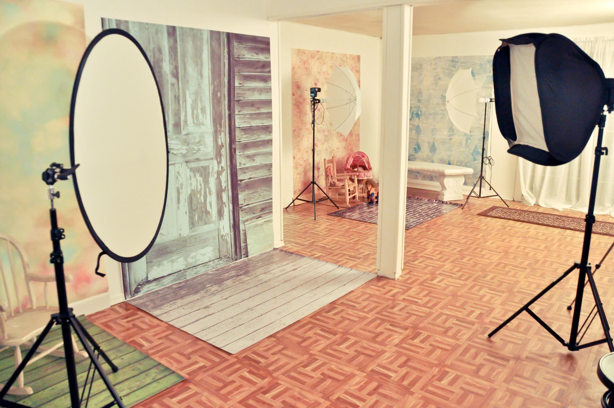 Задний фон в домашней фотостудии