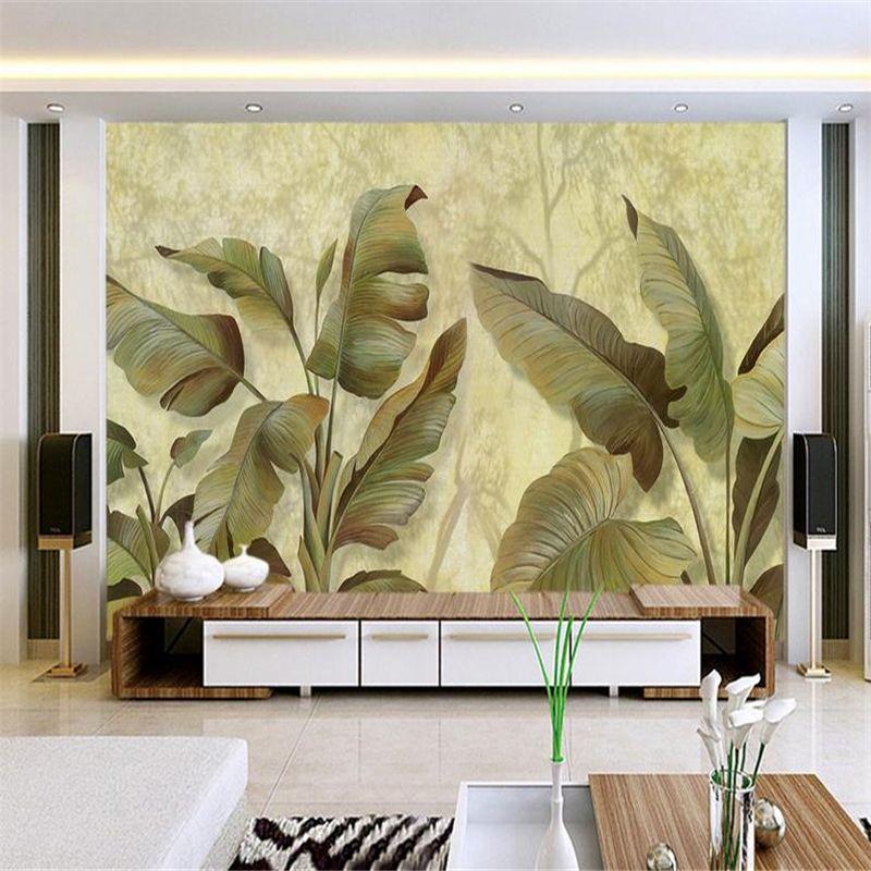 Bildergebnis für tapete blätter schlafzimmer Pinterest Leaf tv