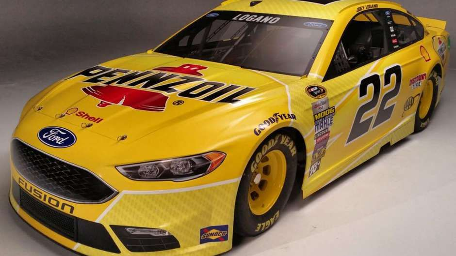 New NASCAR Paint Schemes | Team Penske Pennzoil paint schemes for 2016 Sprint Cup season | FOX ...