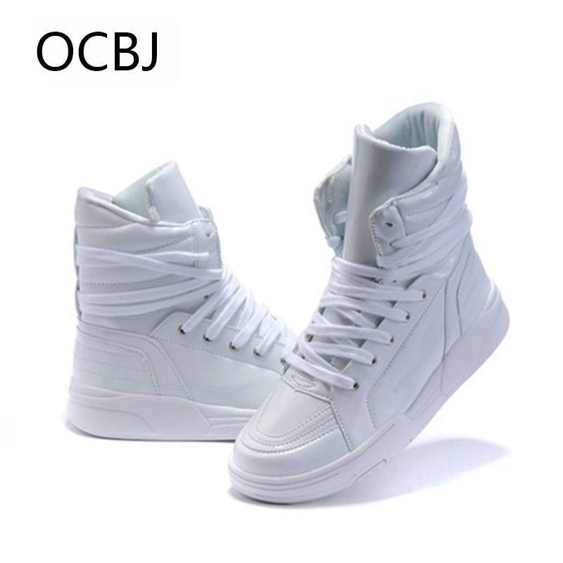 Hot Selling Solid Color Hip Hop Shoes