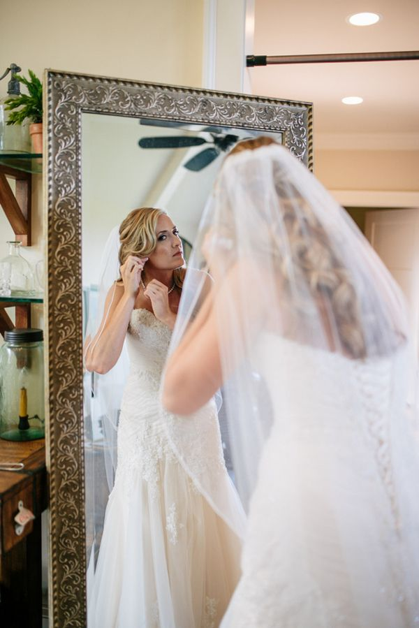 #BigDay #weddings #realweddings    Jessica and Curtis: Southern Glam Backyard Wedding