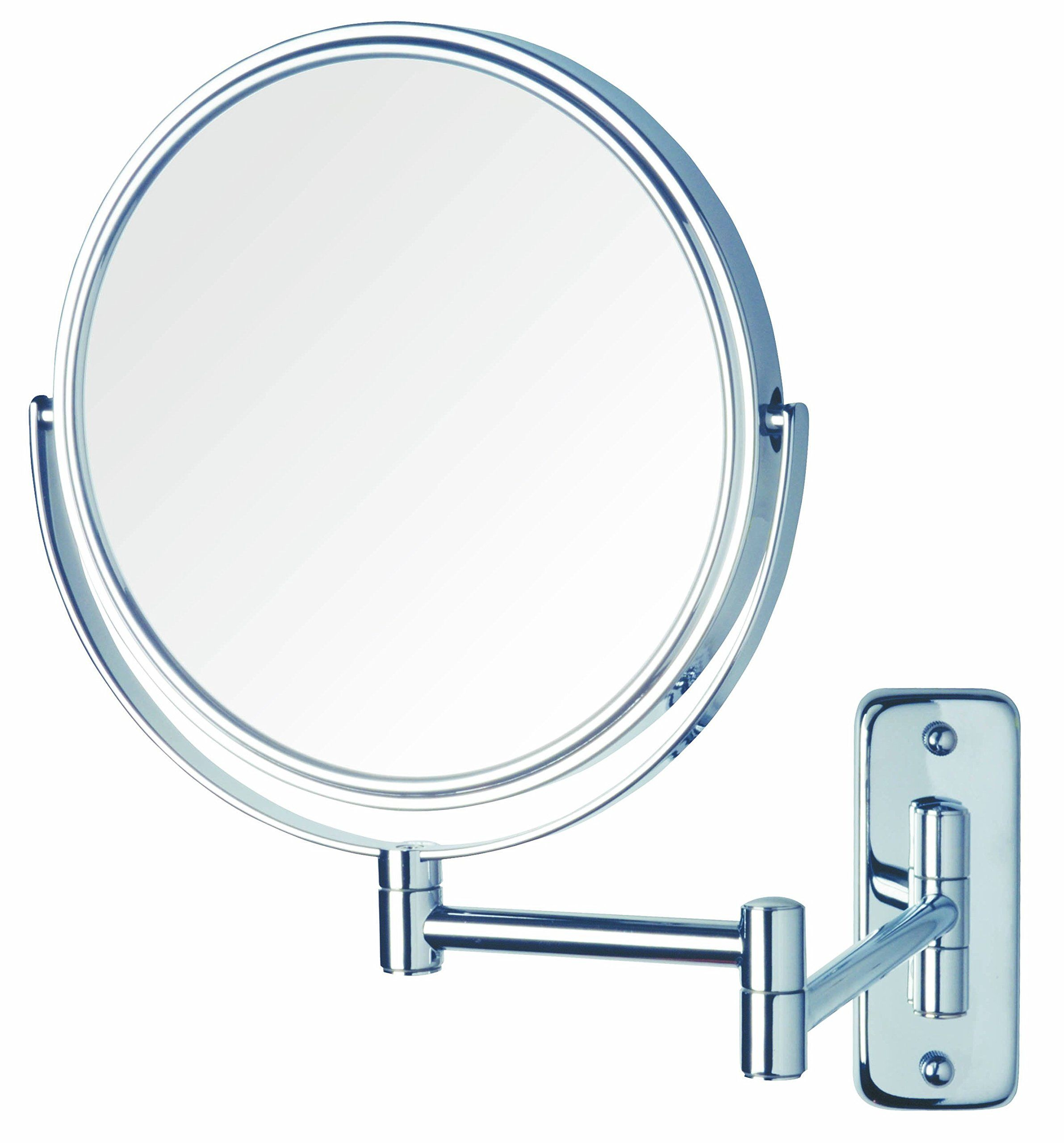 Jerdon Jp7506cf 8inch Wall Mount Makeup Mirror With 5x Magnification Chrome Finish A Lot More Info Wall Mounted Makeup Mirror Makeup Mirror Makeup Mirrors