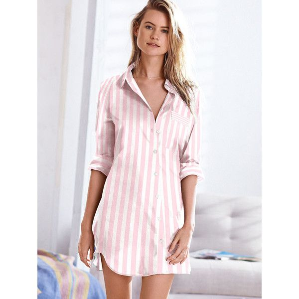 0891be405b Victoria s Secret The Mayfair Sleepshirt ( 40) ❤ liked on Polyvore  featuring intimates
