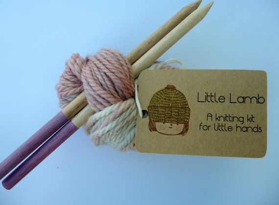 Hey, I found this really awesome Etsy listing at http://www.etsy.com/listing/159815643/knitting-kit-for-children