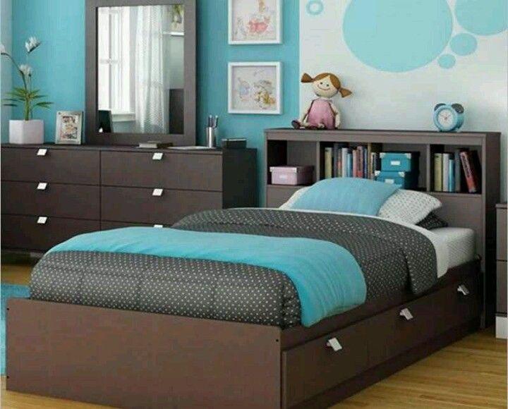 Dormitorio para niña Kids Room Pinterest Dormitorios para - diseo de habitaciones para nios