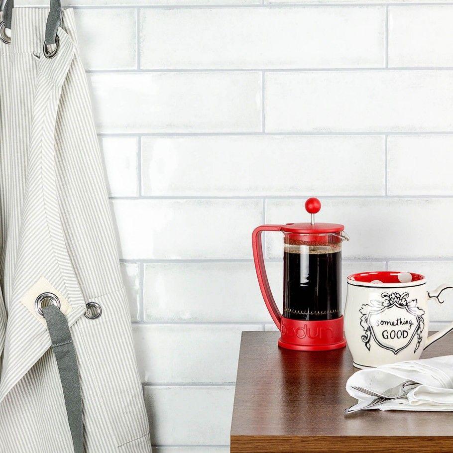 castle wind chill 3x12 ceramic tile | tilebar | kitchen ideas