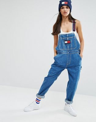 25234008 Tommy Jeans 90s Dungaree | W16 Wants | Tommy hilfiger overalls ...