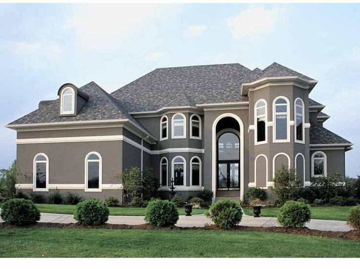 stucco house colors exterior homes - Stucco Exterior Paint Ideas