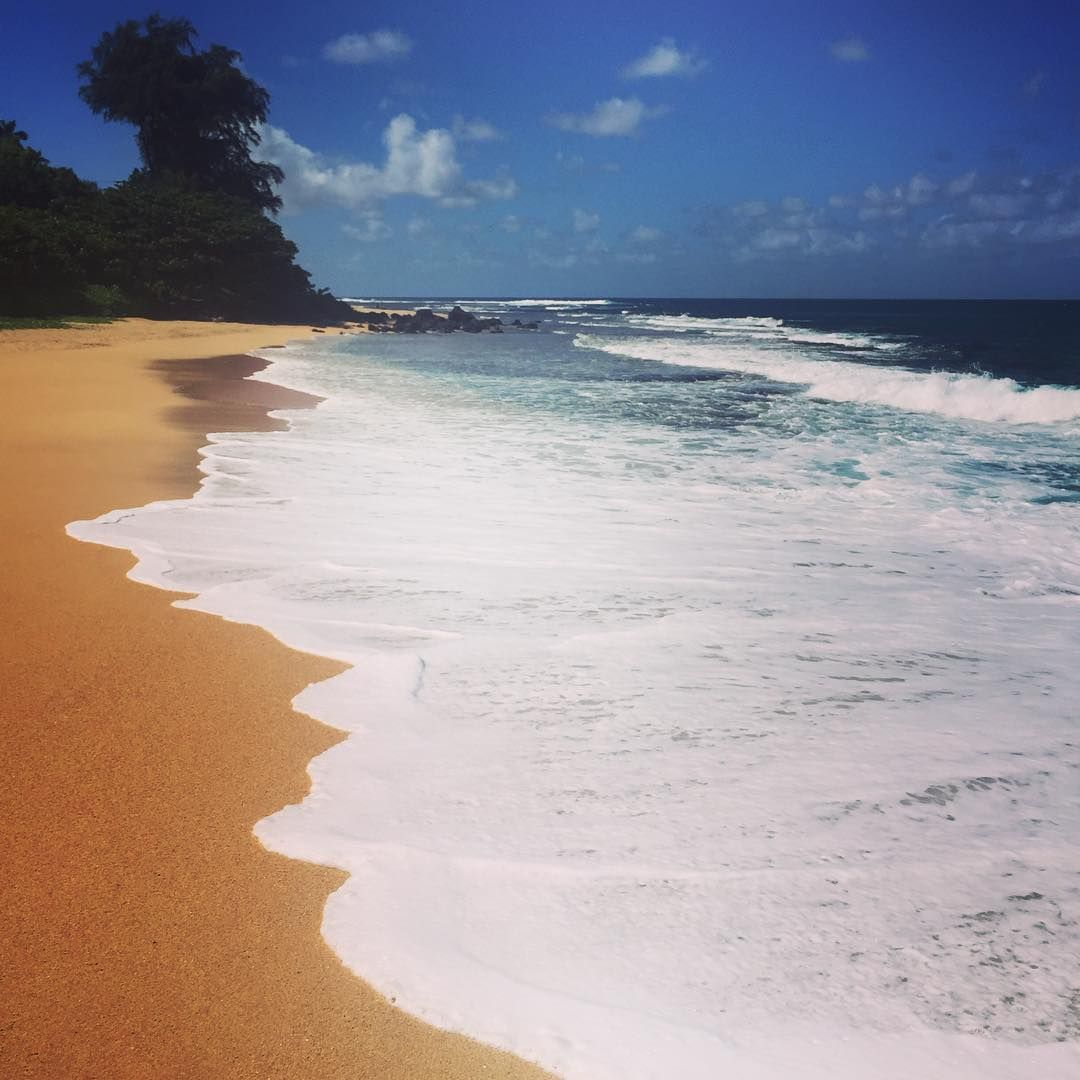 """Secluded #kauai #Hawaii ☀️"""