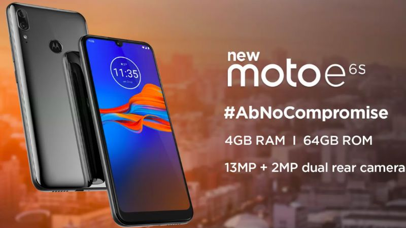 Moto E6s India Launch Officially Teased Phone To Pack 4gb Of Ram