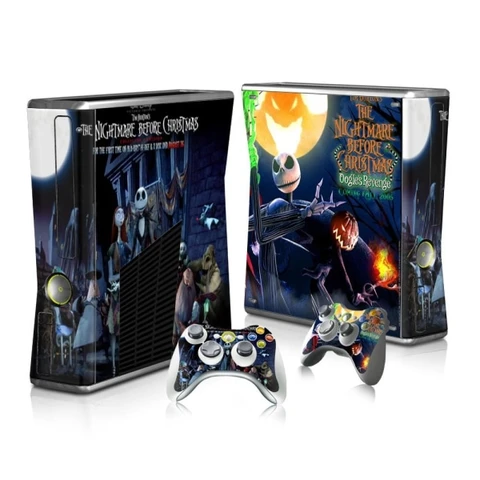 The Nightmare Before Christmas Xbox 360 Skin In 2020 Xbox Xbox 360 Nightmare Before