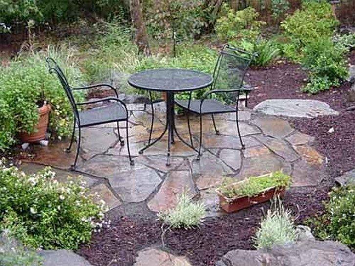 Amazing diy slate patio design and ideas 51 walkways