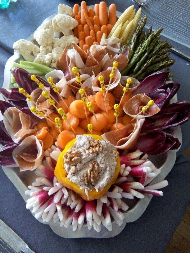 Plateau De Crudites Picasso Of Food Plating Pinterest