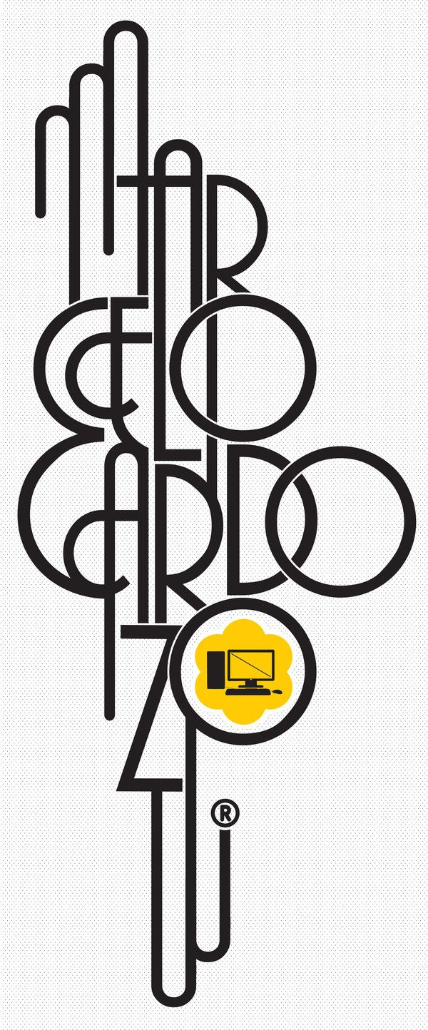 TYPE POSTER // marcelocardozo.com.ar ® by Marcelo Cardozo, via Behance