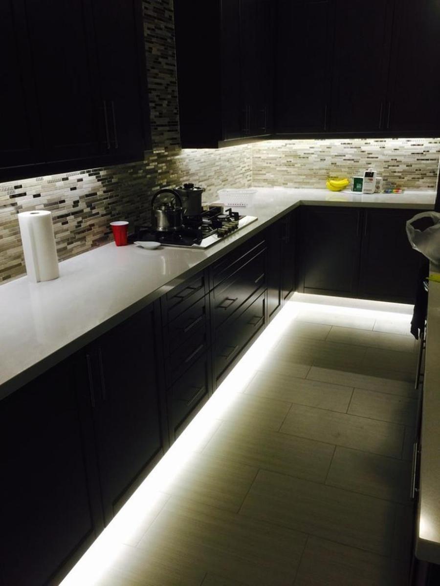 How To Install Led Strip Lights Under Kitchen Cabinets Strip Lighting Installing Led Strip Lights Led Strip Lighting