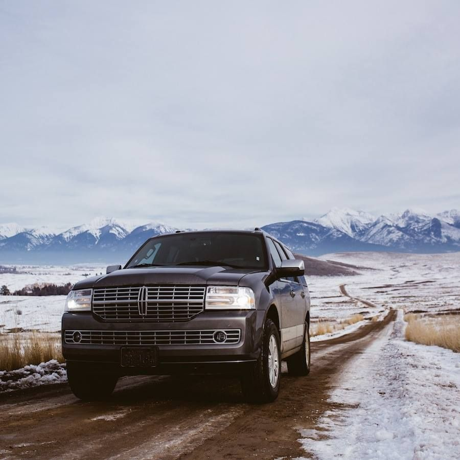 You don't have to know where you're going. The 2014 #Navigator conquers the open trail.
