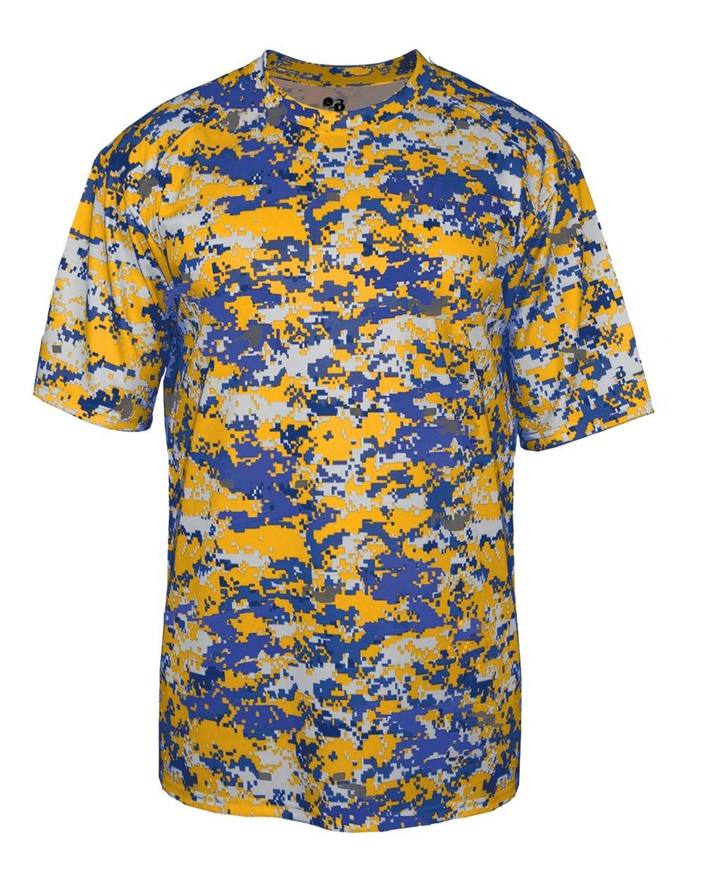 c9d3a6a9592 Youth Digital Camo Performance B-Core Tee by Badger Sports Style ...