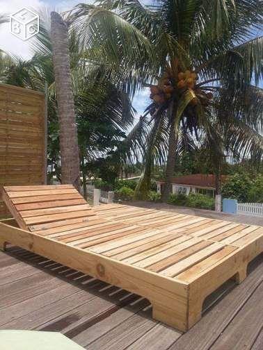 Lit En Palette Ameublement Guadeloupe Leboncoin Fr Bain De Soleil Amenagement Jardin Palette