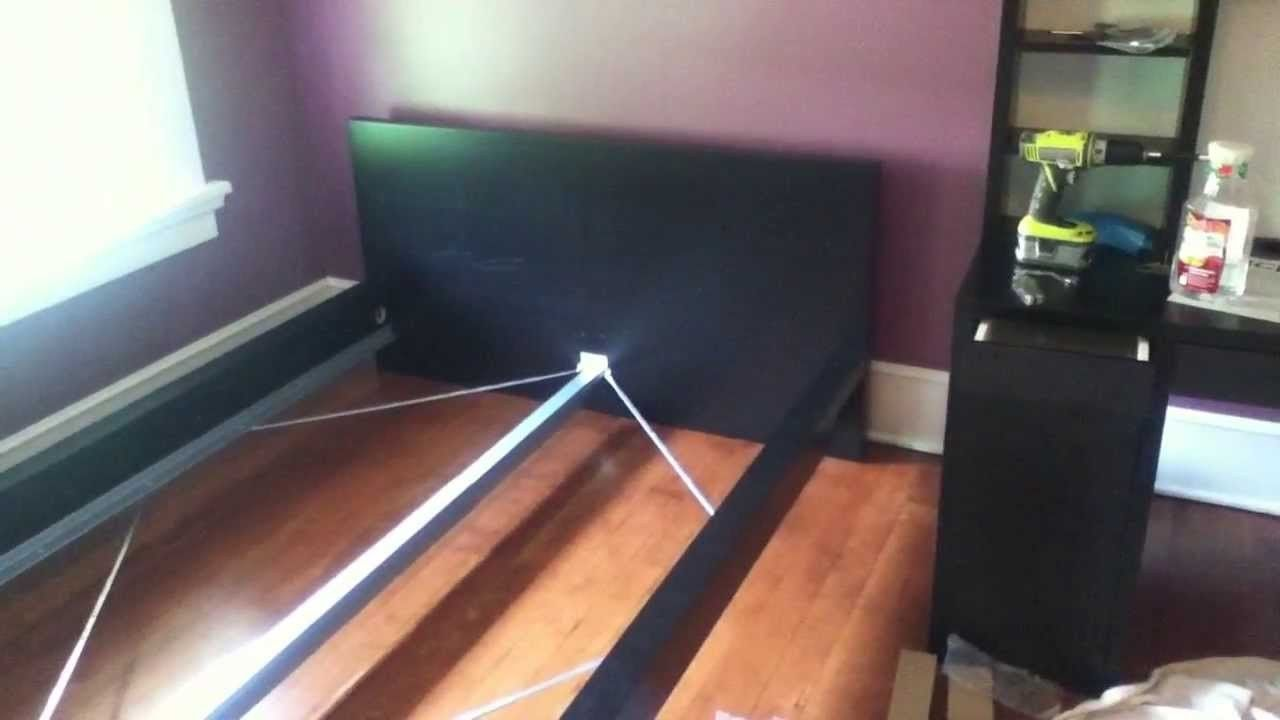 Malm Bed Frame Assembly Instructions Video Ikea Krebatia