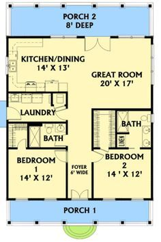 30 x 40 floorplan floor plans pinterest house for 30x40 2 story house plans