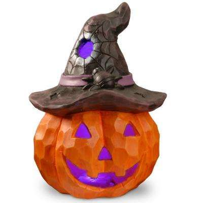 14 in Lighted Halloween Jack-O-Lantern Home Depot-Hallo BUY NOW - halloween lighted decorations