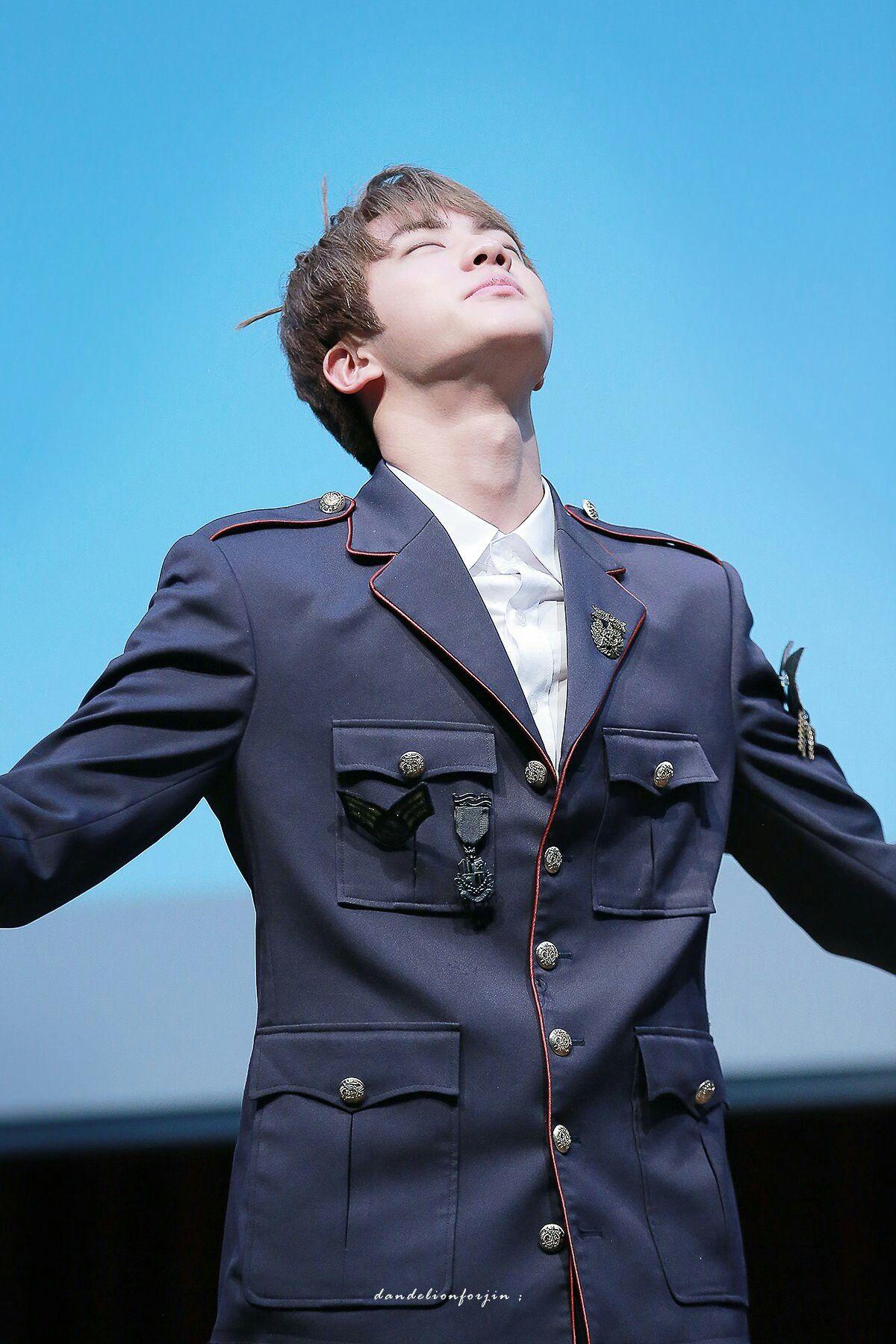 Jin❤ BTS Hongdae Fansign (170226) #BTS #방탄소년단