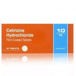 30 Days Allergy Hayfever Relief Cetirizine Hydrochloride Tablets Zirtek Equivalent Hayfever Relief Allergies Tablet