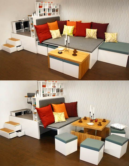 Small Apartment Solutions 1000+ images about salas xs on pinterest | tiny living rooms