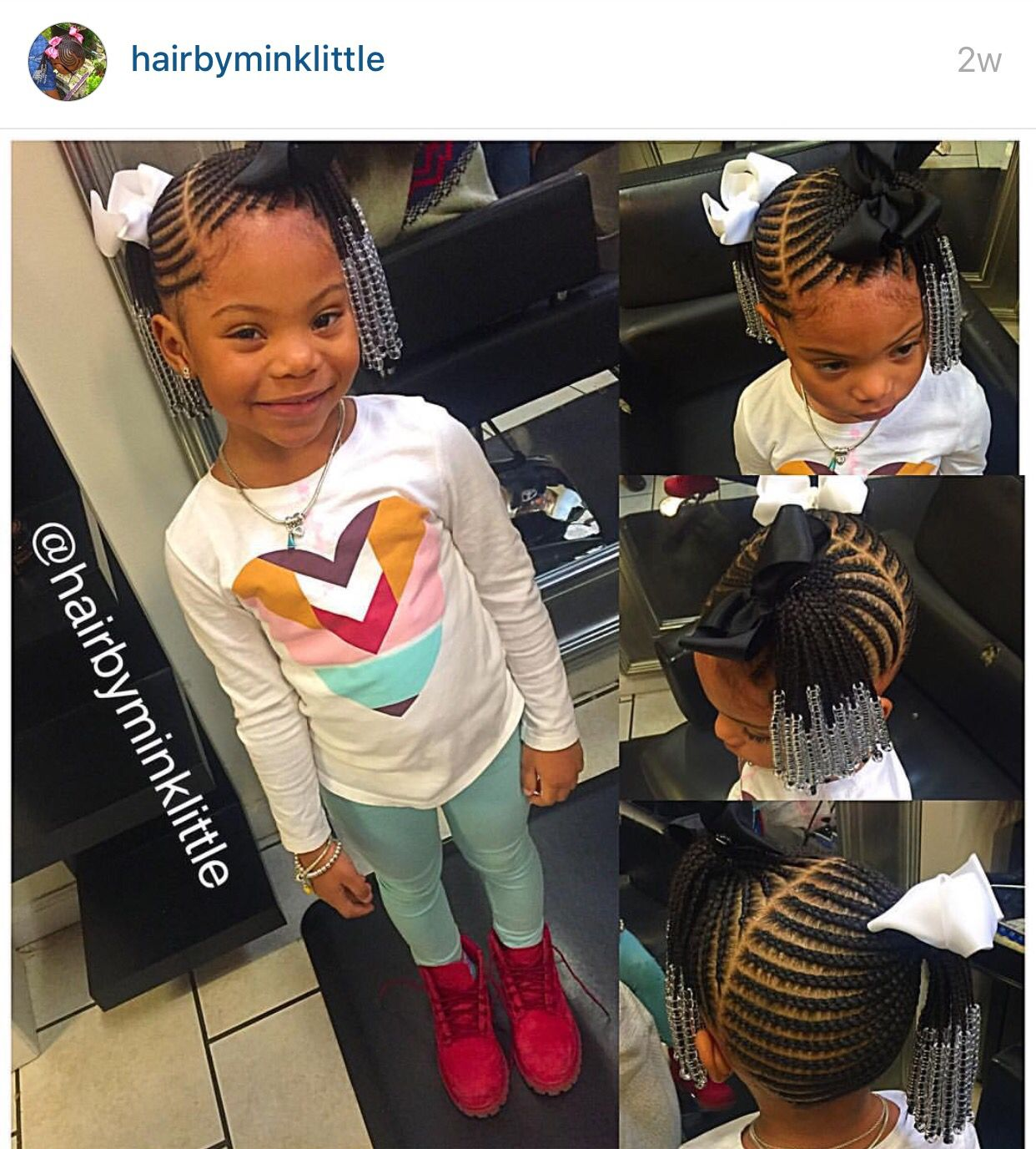 Braid extensions for toddlers