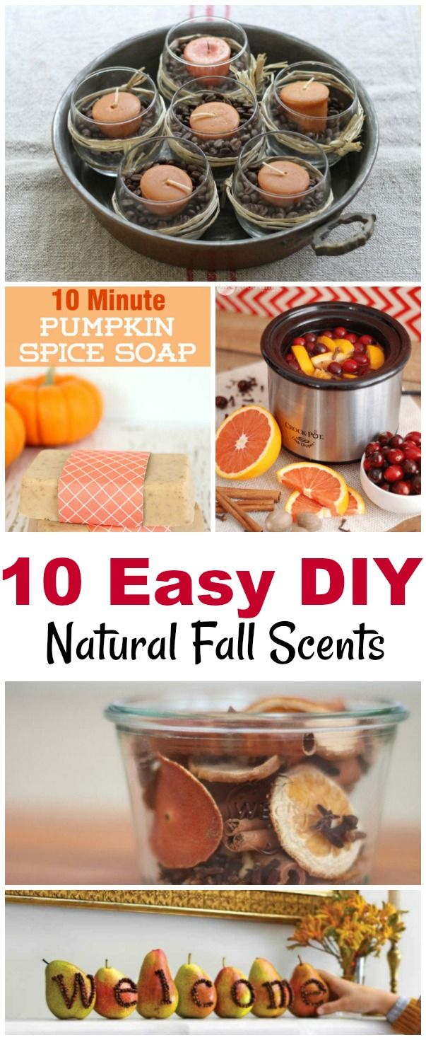 10 Easy DIY Natural Fall Scent Recipes Candles, Soap