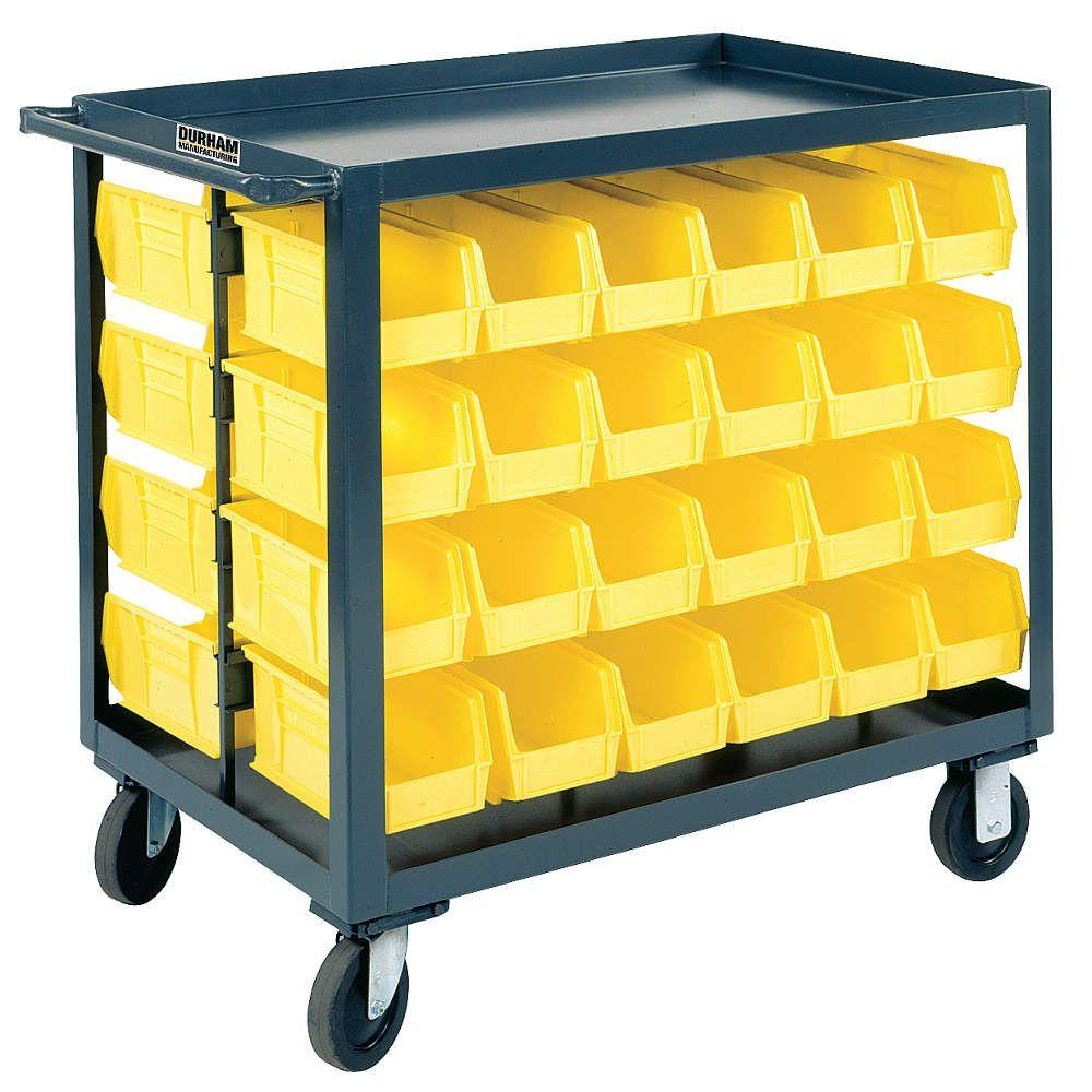 Industrial Kitchen Bin: 36x18x25 $416 WP97595 Mobile Bin Cart