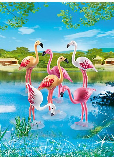 PLAYMOBIL® 6651 Flamingoschwarm