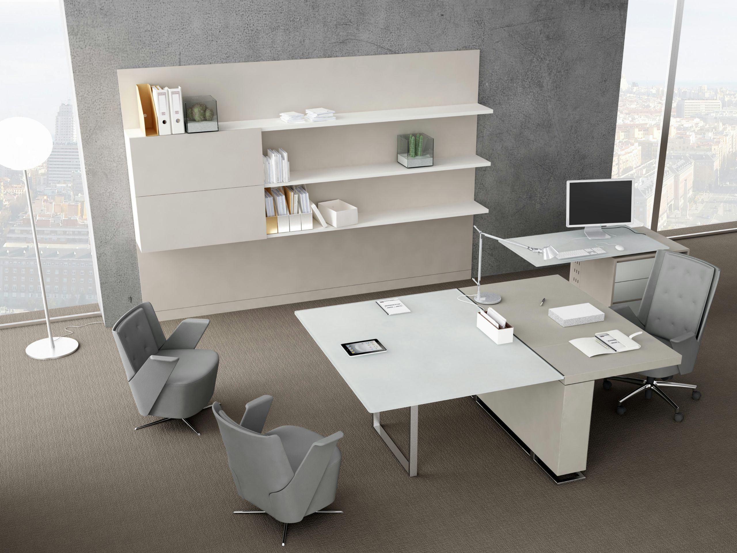 Librer A De Oficina Modular De Madera Boiserie L Nea Estel Office  # Muebles Boisserie